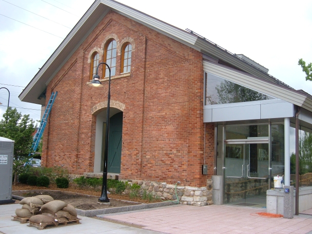 Landmark Depot Exterior