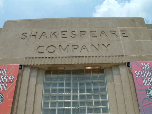 Shakespeare Company - Outside Sign #2