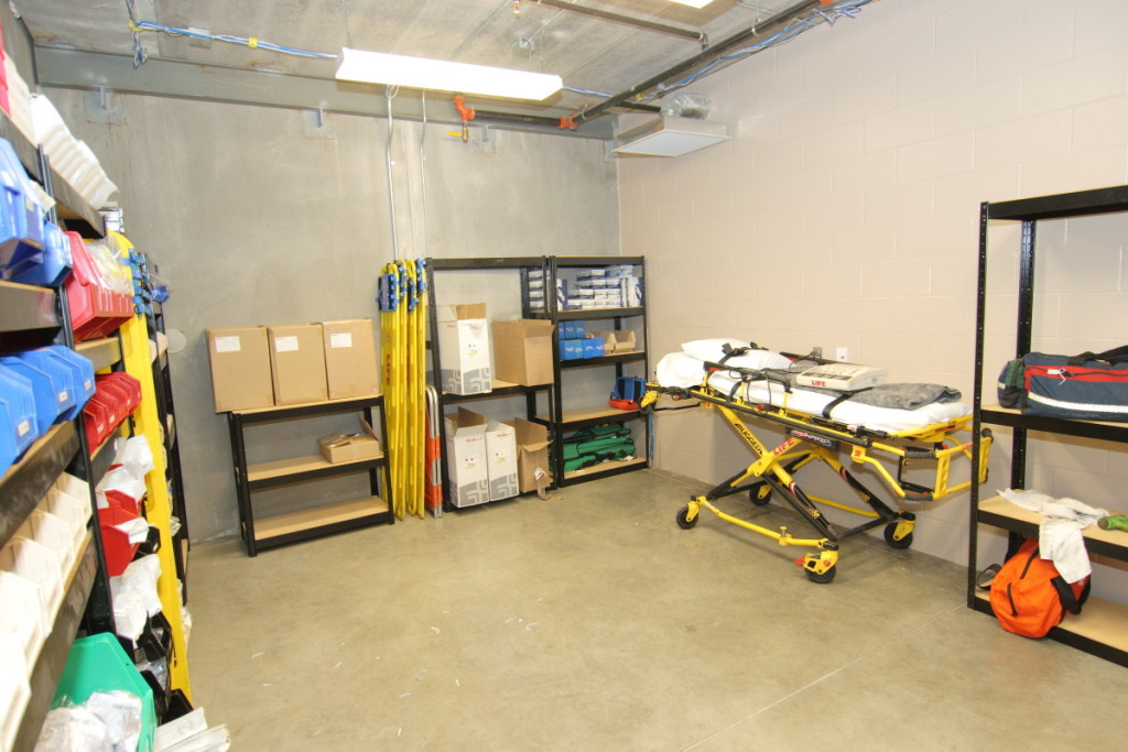 Medical Supply Stocking Room