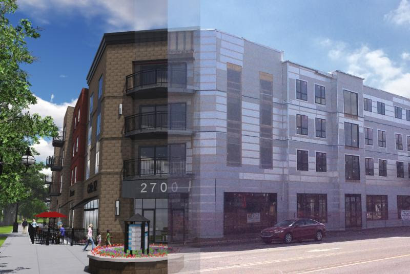 2700 West mixed use development