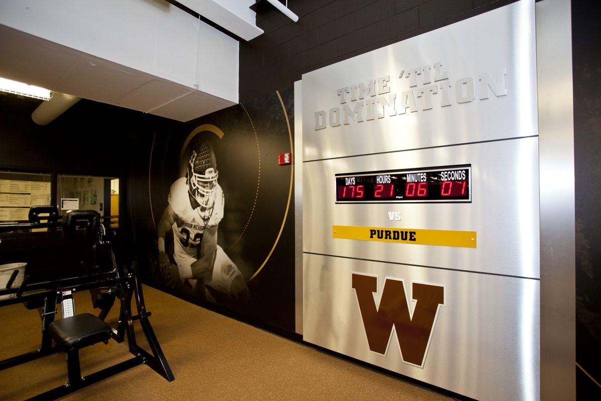 WMU Weight Room Renovations