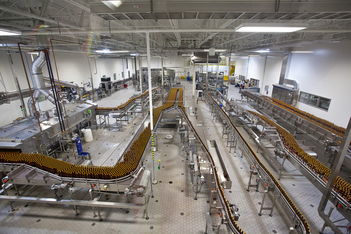 Bell's Brewery, Inc. 2015 Expansion - Bottling Hall