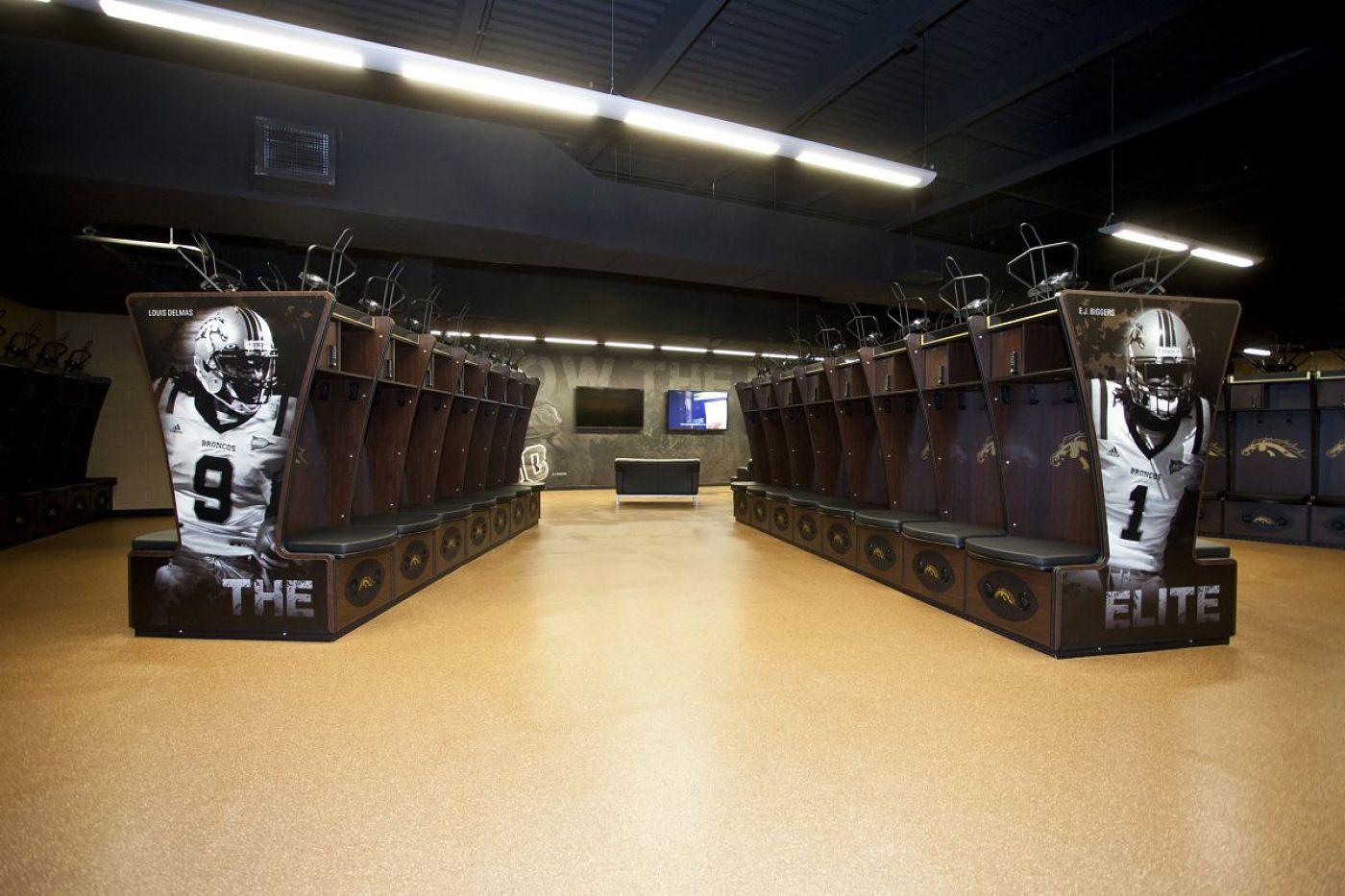 WMU Football Locker Room Renovation