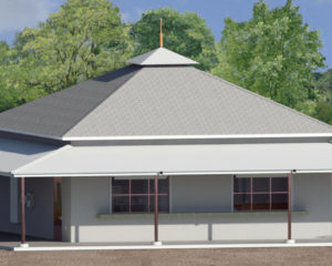 Spence Softball Complex Rendering