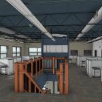 2nd Floor Office - w Lines