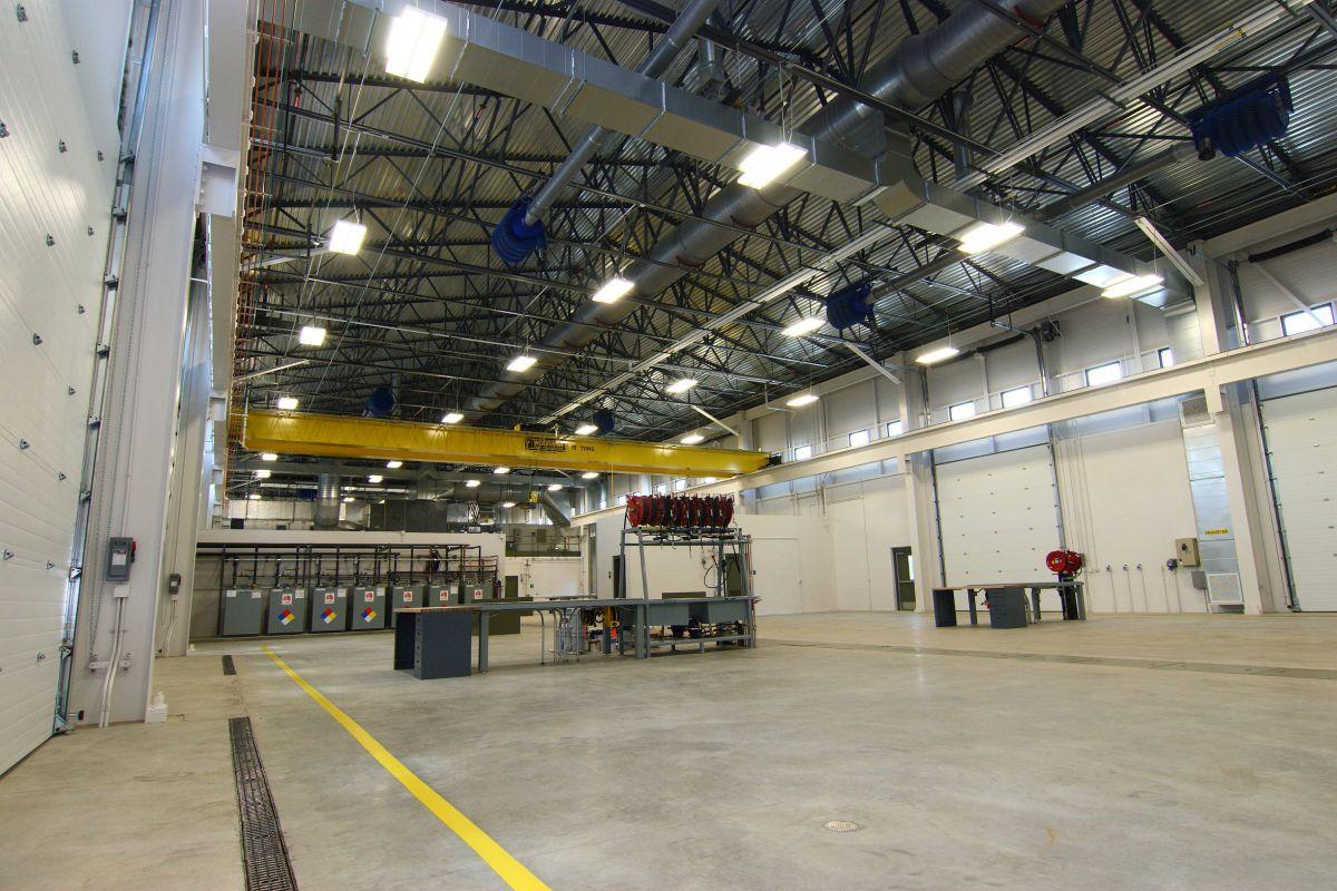 Fort Custer Training Center New Maintenance Facility