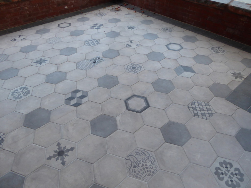 Tile on Porch