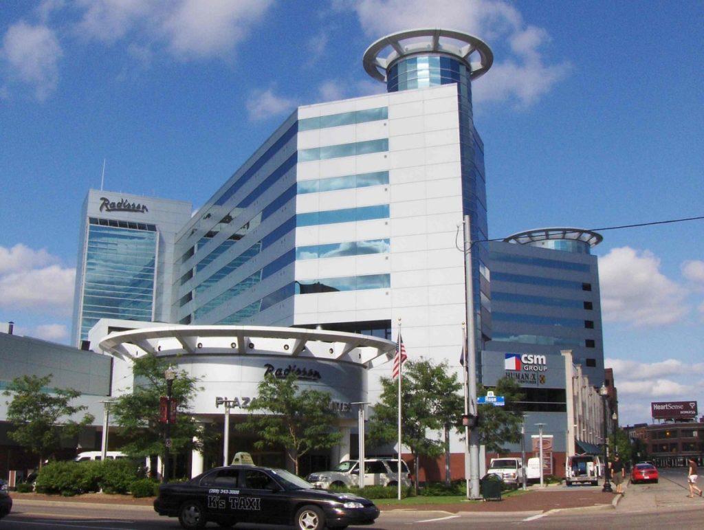 Radisson Plaza Hotel Renovation Expansion Byce