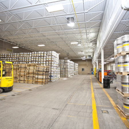 Bell's Brewery, Inc. 2015 Expansion - Keg Storage