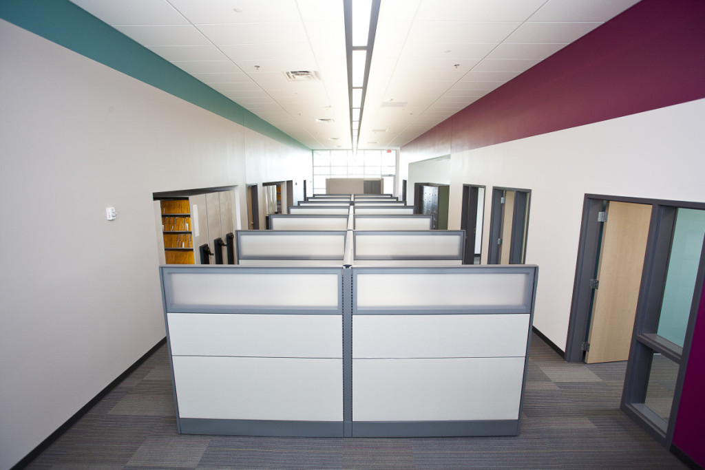 Impact Label Cubicles