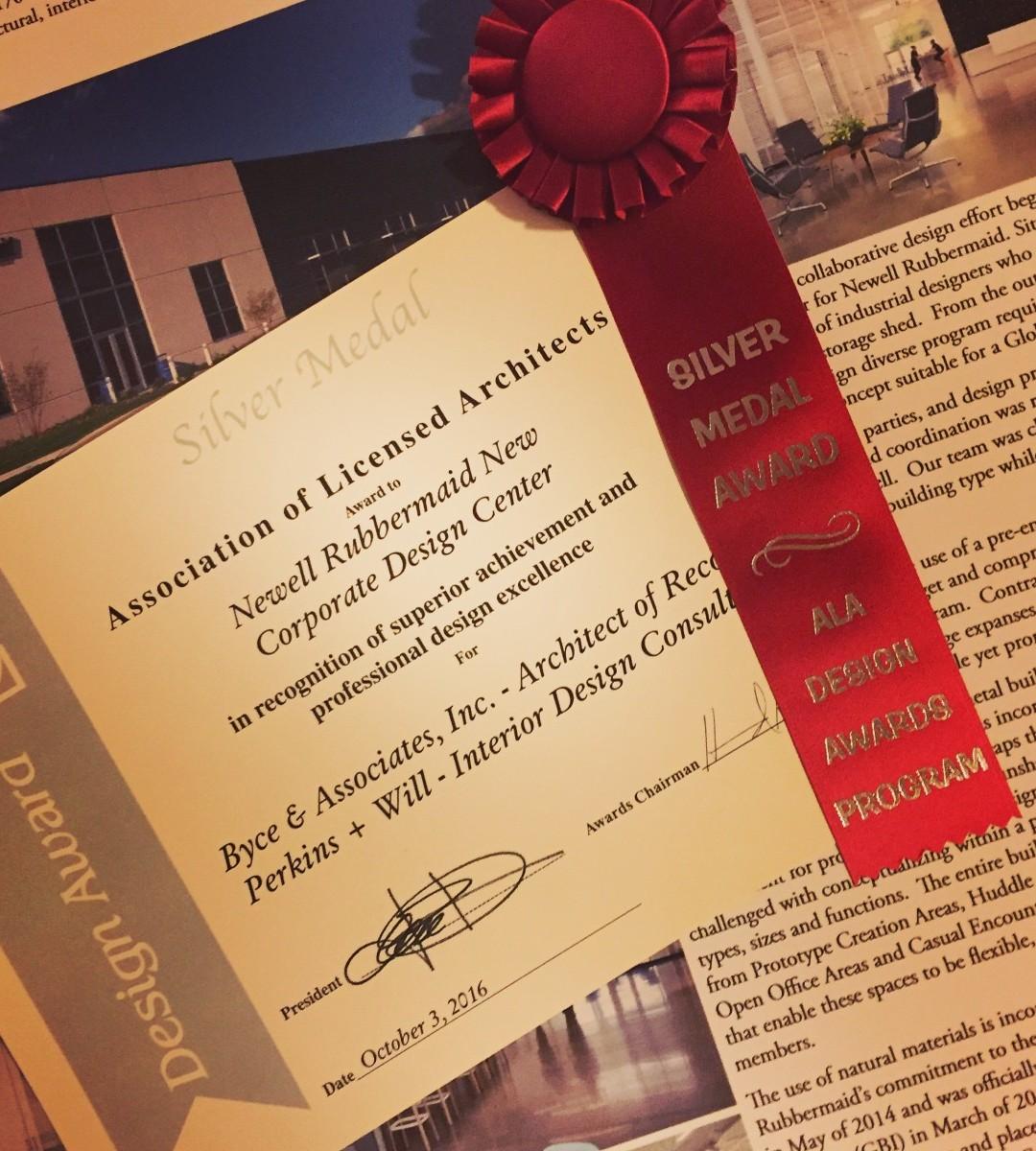 ALA Design Award Silver Medal