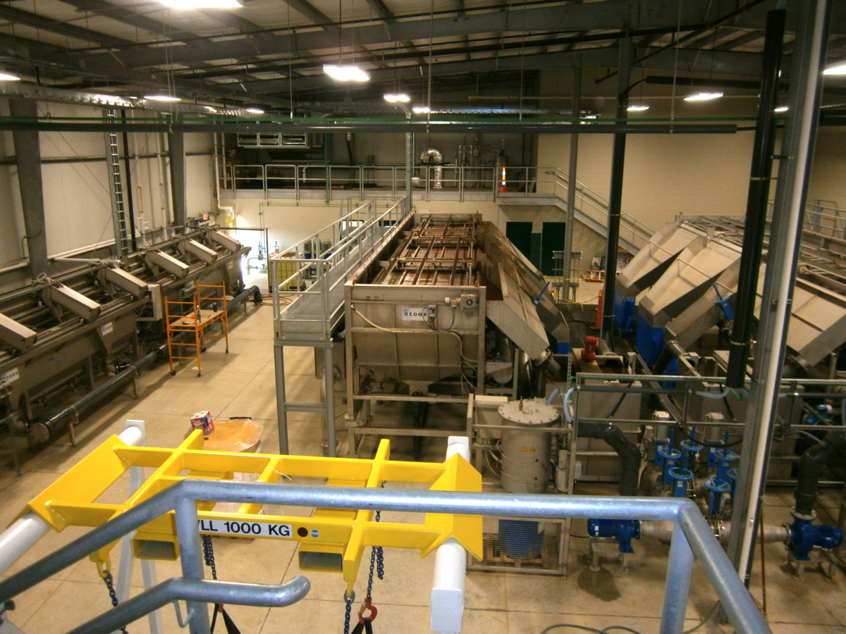 Clemens Pork Processing Waste Water Treatment Plant