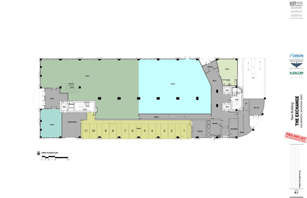 The Exchange 1st Floor Plan