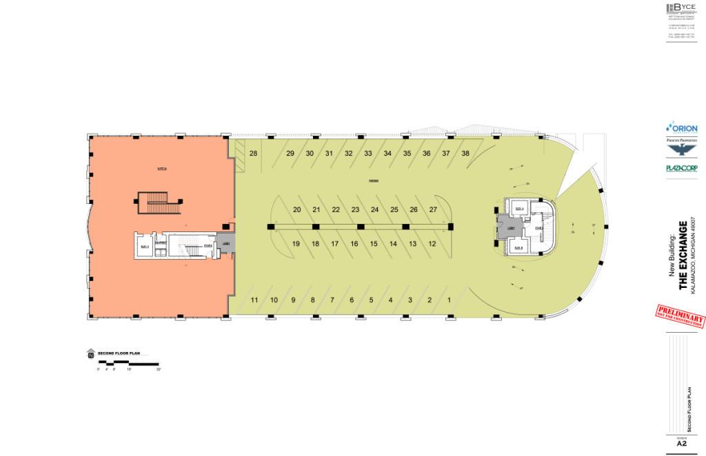 The Exchange 2nd floor Plan
