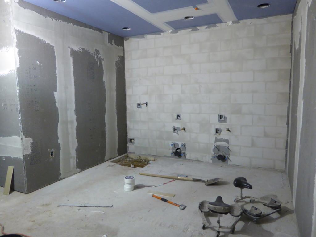 Bathroom Area Construction