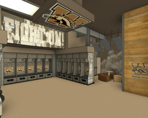 WMU Basketball Locker Rooms