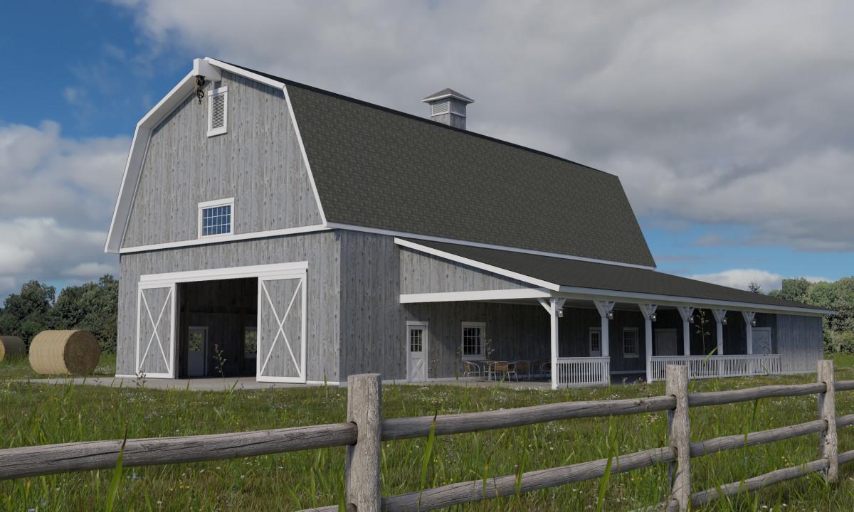 Leslie Meadows Event Barn Byce Amp Associates Inc