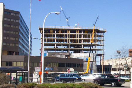 Radisson Plaza Hotel Construction