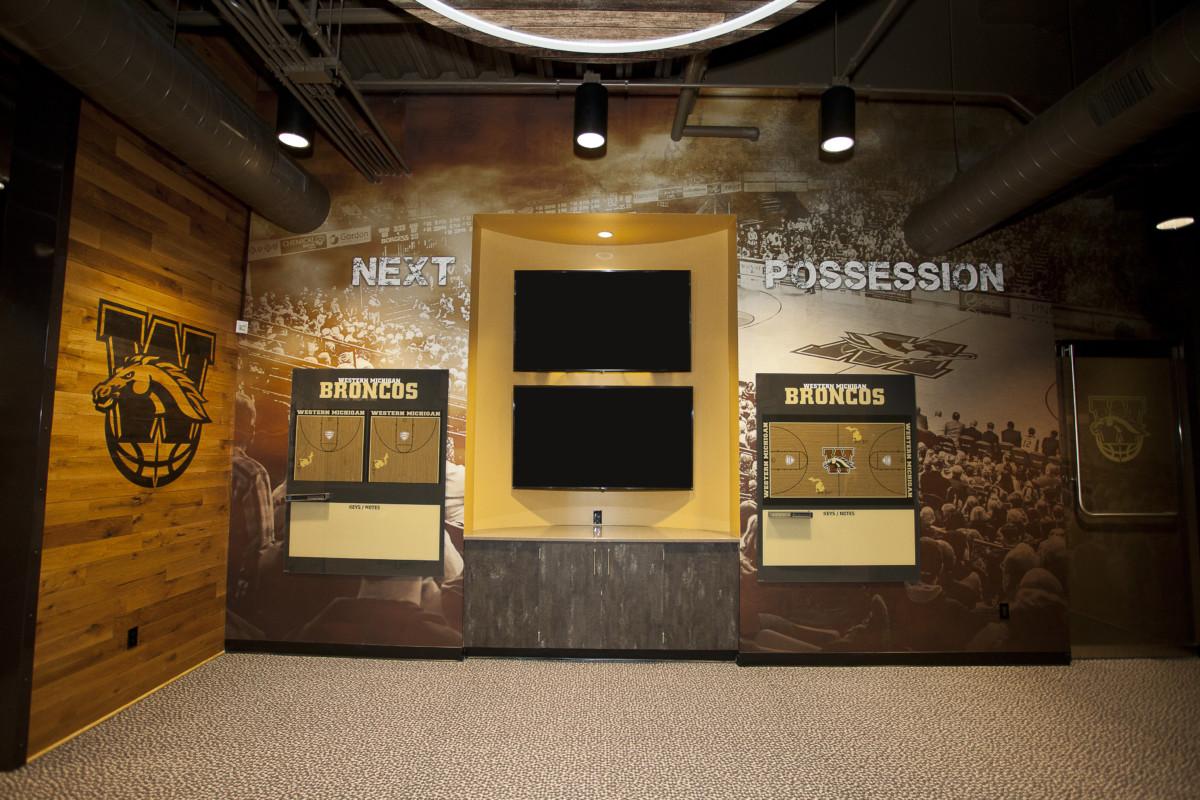 WMU Read Fieldhouse Locker Room Renovations