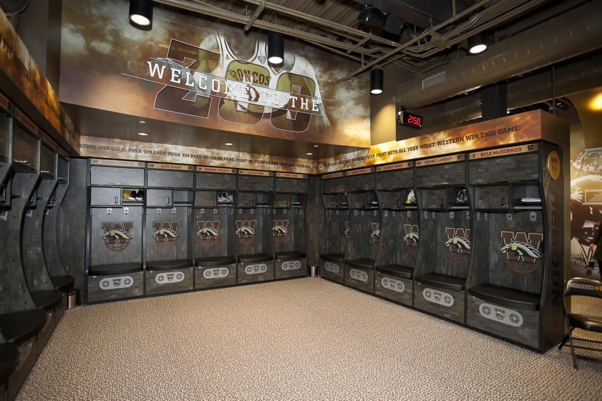 WMU Read Fieldhouse Locker Room Renovations