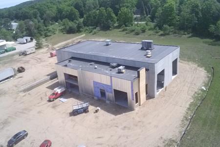 Stormcloud's Production Facility Construction