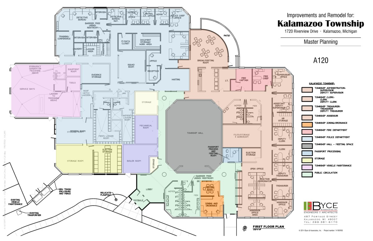 Kalamazoo Township Office Feasibility Assessment & Master Plan